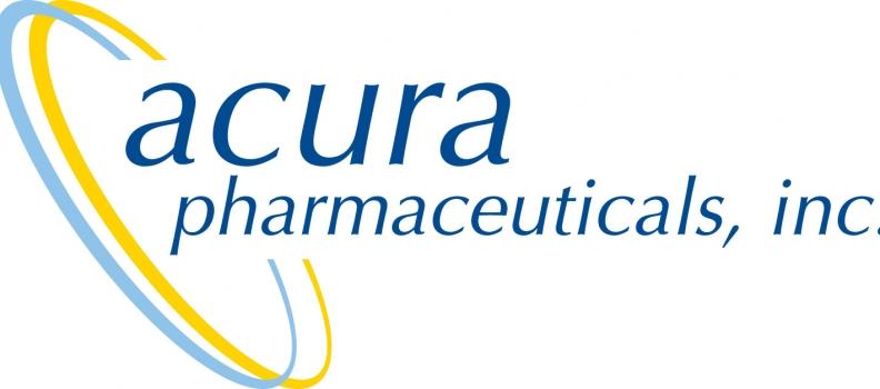 Acura Pharmaceuticals Announces Second Quarter 2020 Financial Results
