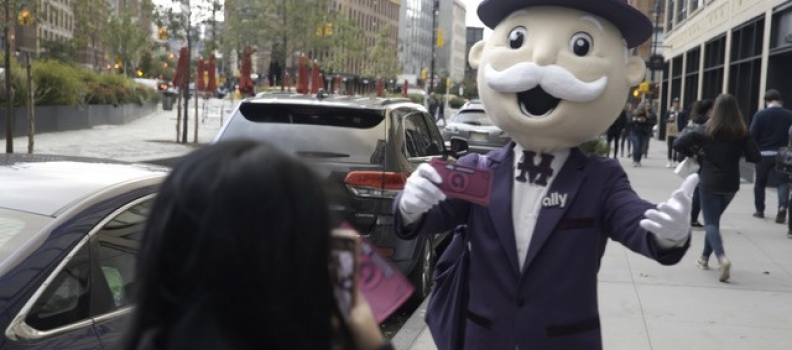It's Still Game On in the Big Apple: Ally Turns New York City into Live MONOPOLY® Gameboard to Help People Grow Their Fortune
