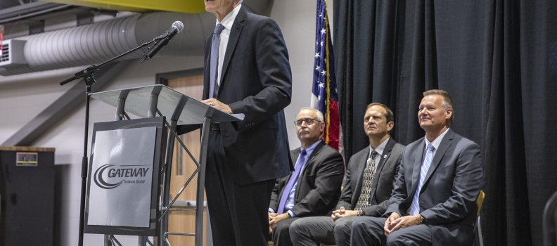 Wisconsin Governor, Foxconn leader laud reopening of new center called a national advanced manufacturing training model